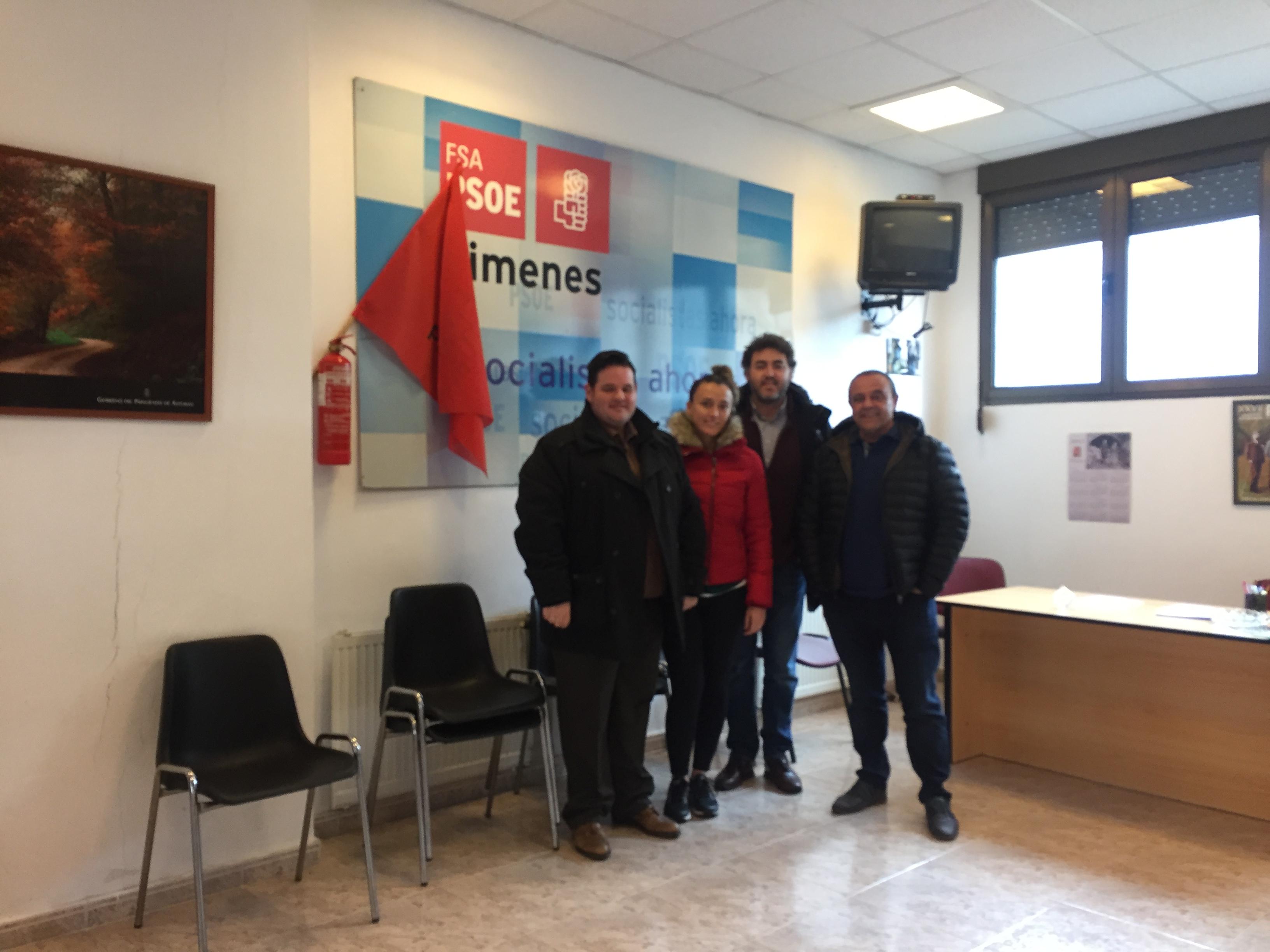 Ejecutiva PSOE de Bimenes