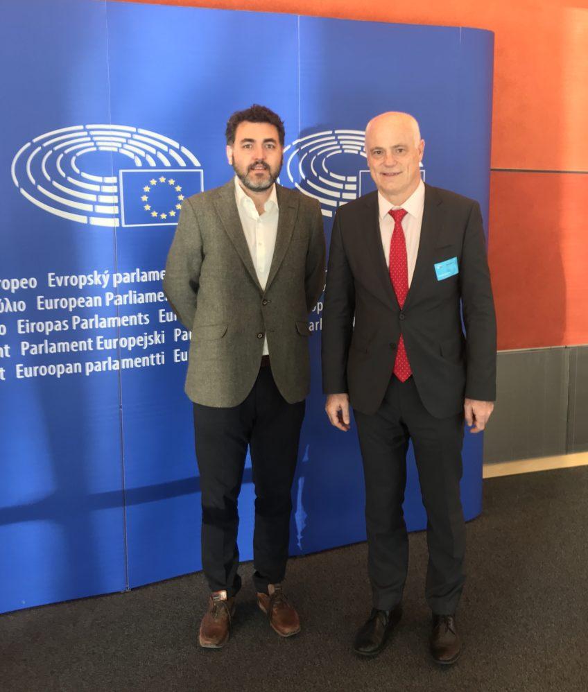 Jonás Fernández con José Manuel Campa