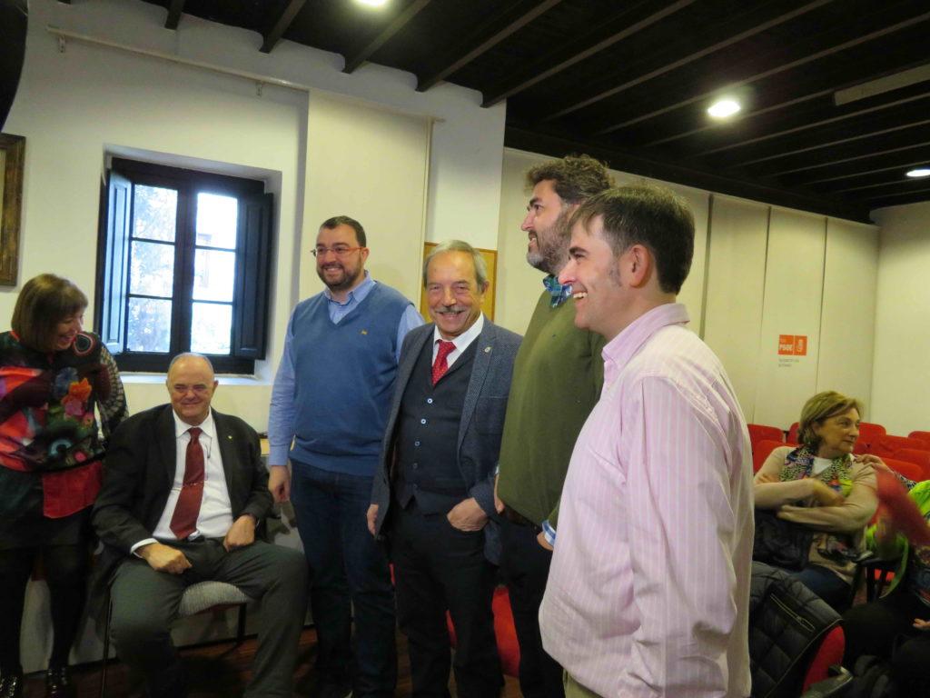 Reunión PSOE Asturias con Jonás Fernández