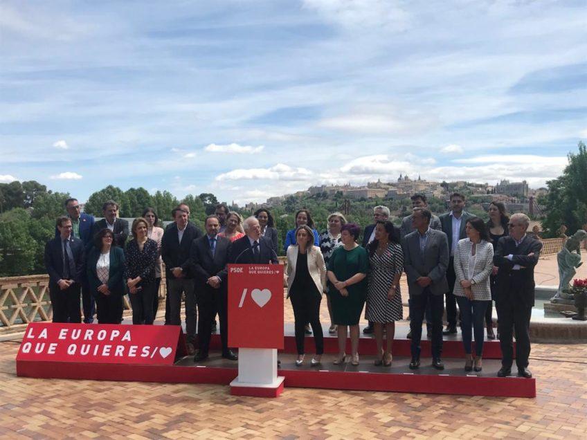 Grupo de candidatos elecciones europeas