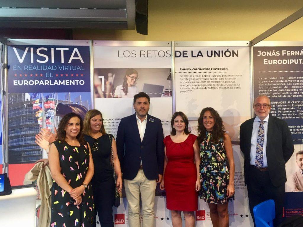 Jonas Fernandez y otros miembros del FSA
